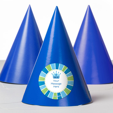 Little Prince Personalized Party Hats (8 Count)