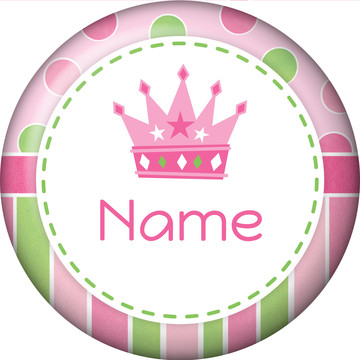 Little Princess Personalized Mini Magnet (Each)