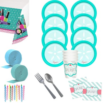 Little Spa Deluxe Tableware Kit (Serves 8)