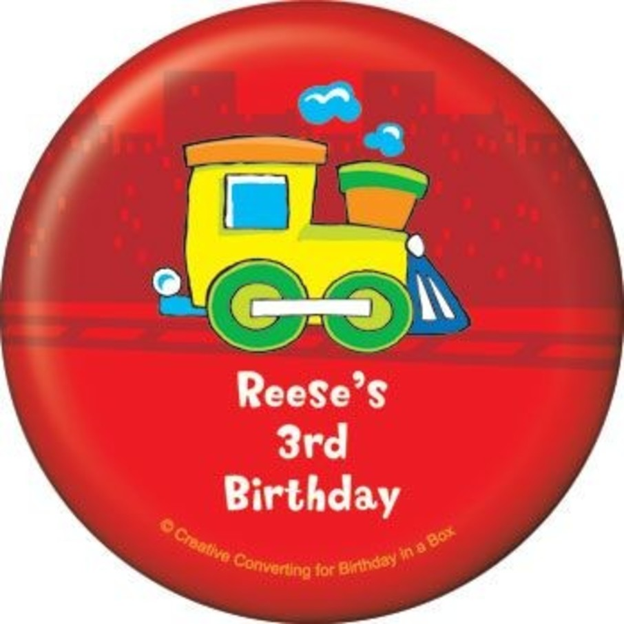View larger image of Little Truck Party Personalized Magnet (each)
