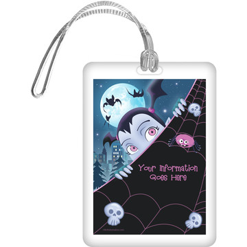 Little Vampire Personalized Bag Tag (Each)