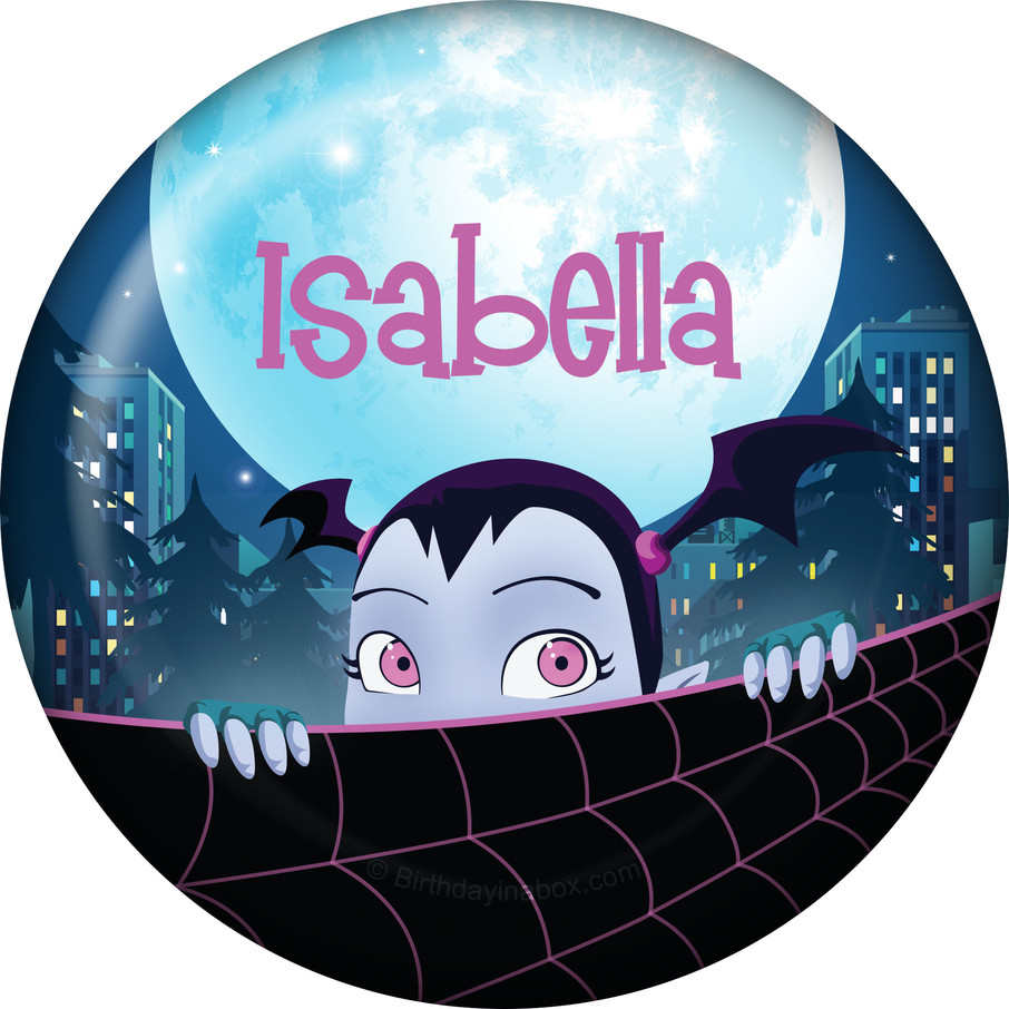 View larger image of Little Vampire Personalized Button (Each)