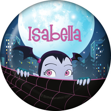 Little Vampire Personalized Mini Button (Each)