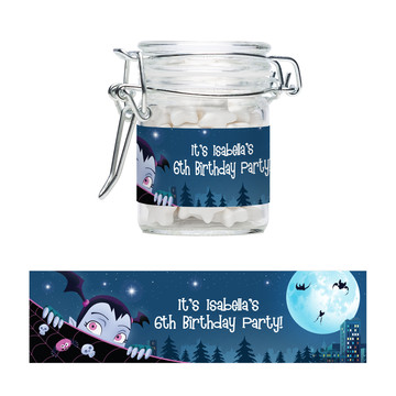 Little Vampire Personalized Swing Top Apothecary Jars (12 ct)