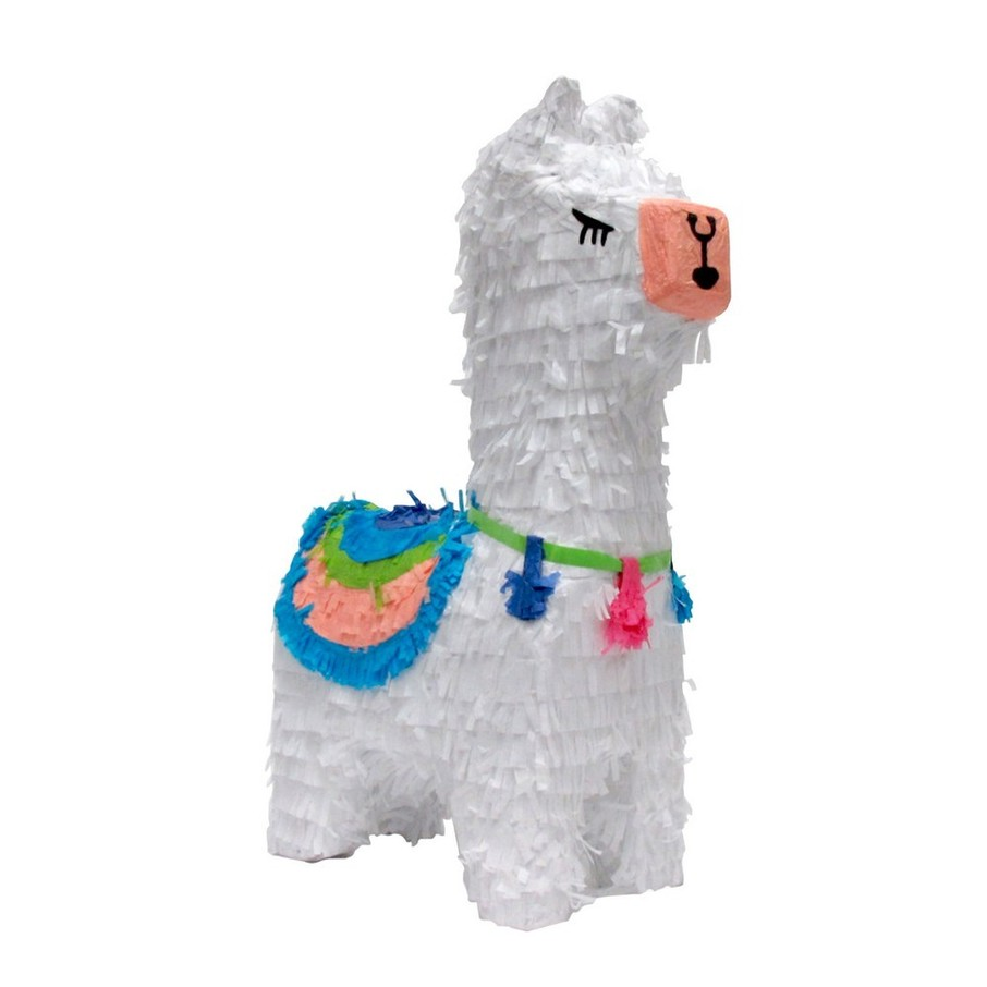 View larger image of Llama Pull String Pinata (1)