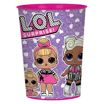 LOL Surprise 16oz Plastic Favor Cup (1)