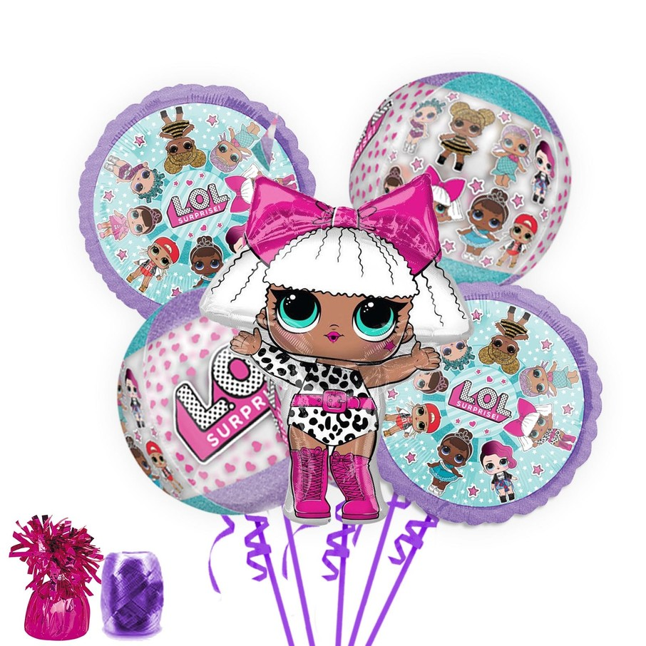 View larger image of LOL Surprise Deluxe Balloon Bouquet Kit
