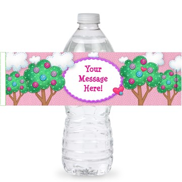 Loopy Rag Dolls Personalized Bottle Labels (Sheet of 4)