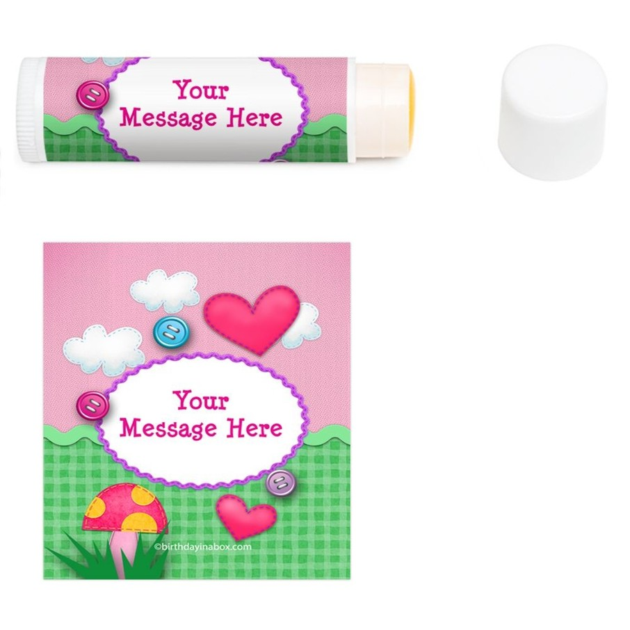 View larger image of Loopy Rag Dolls Personalized Lip Balm (12 Pack)