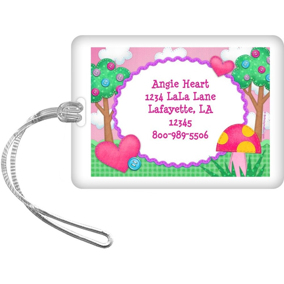 View larger image of Loopy Rag Dolls Personalized Luggage Tag (Each)