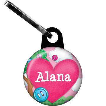 Loopy Rag Dolls Personalized Zipper Pull (Each)