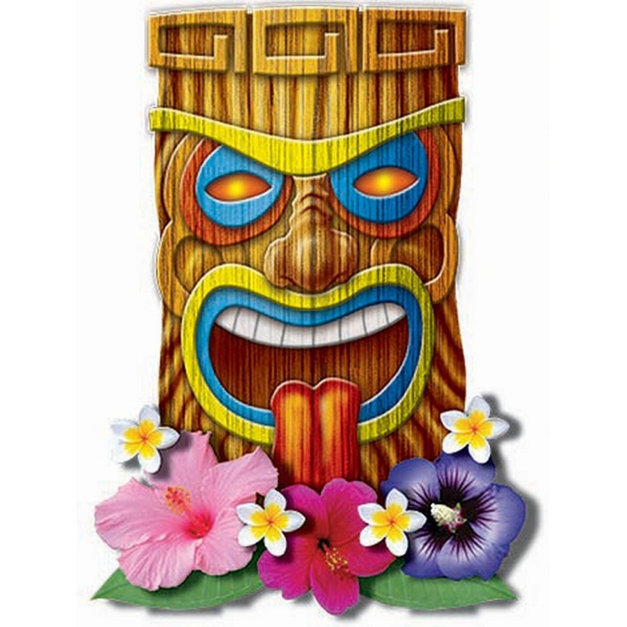 View larger image of Luau Assorted Cut-Out Set (8 Count)