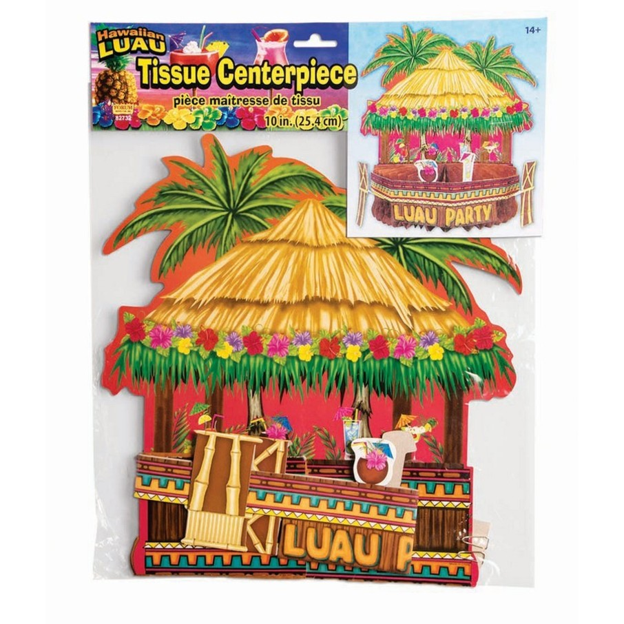 "View larger image of Luau Honey Comb 10"" Tiki Bar Centerpiece"