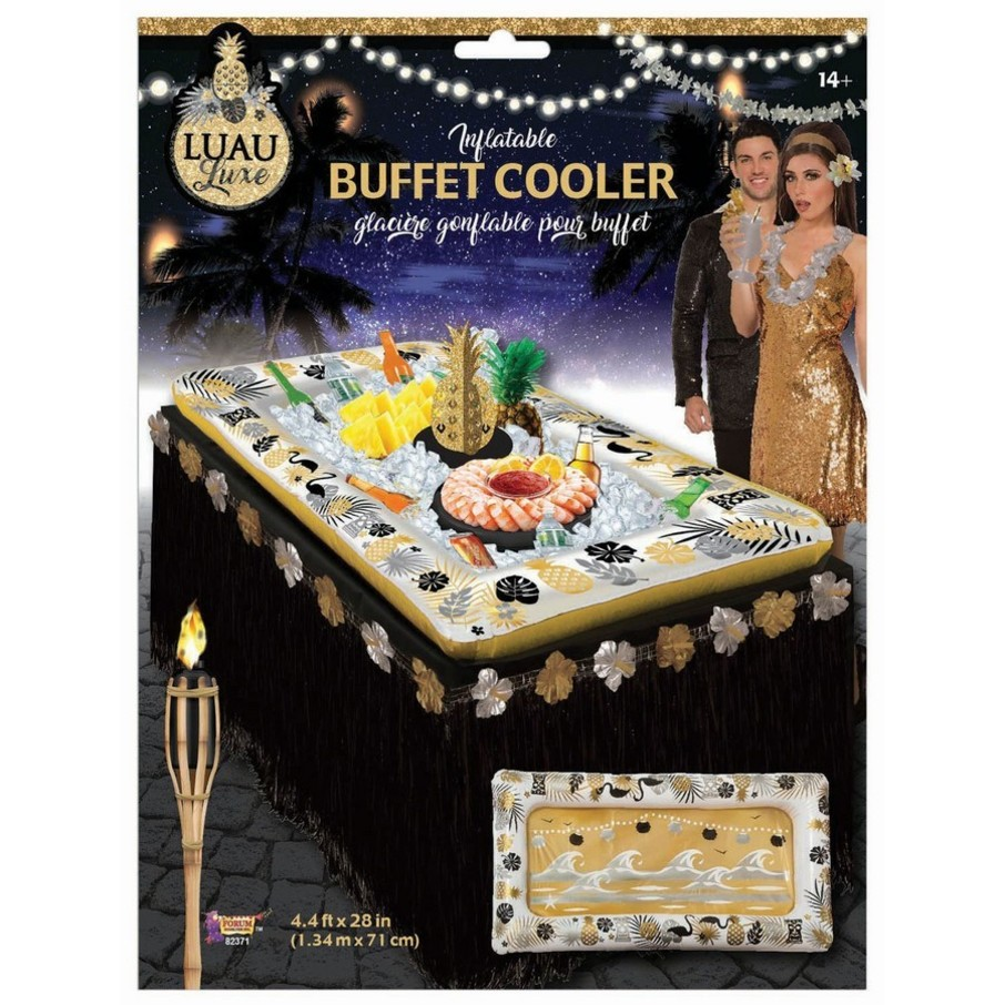 """View larger image of Luau Luxe 4.5' x 28"""" Buffet Cooler"""