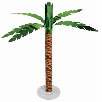 Luau Palm Tree Centerpiece