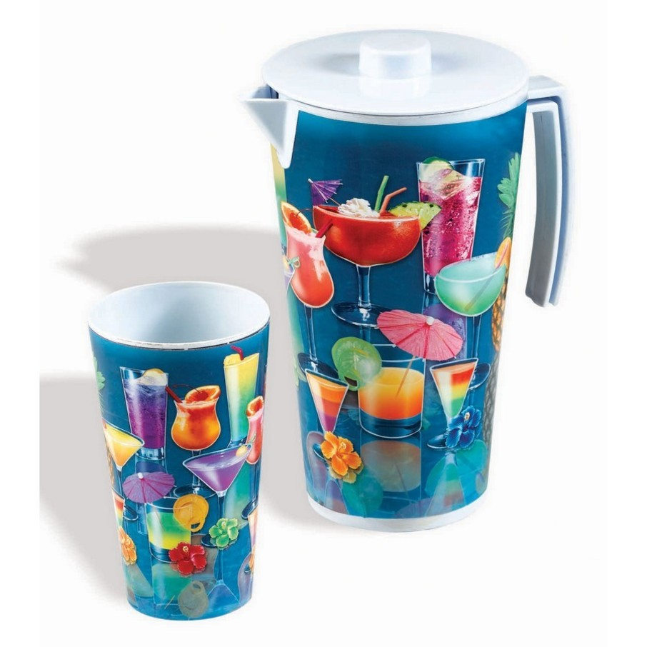 View larger image of Luau Tropical Drink Pitcher