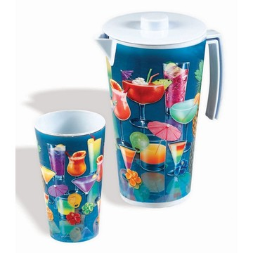 Luau Tropical Drink Pitcher