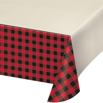Lumberjack Plaid Table Cover