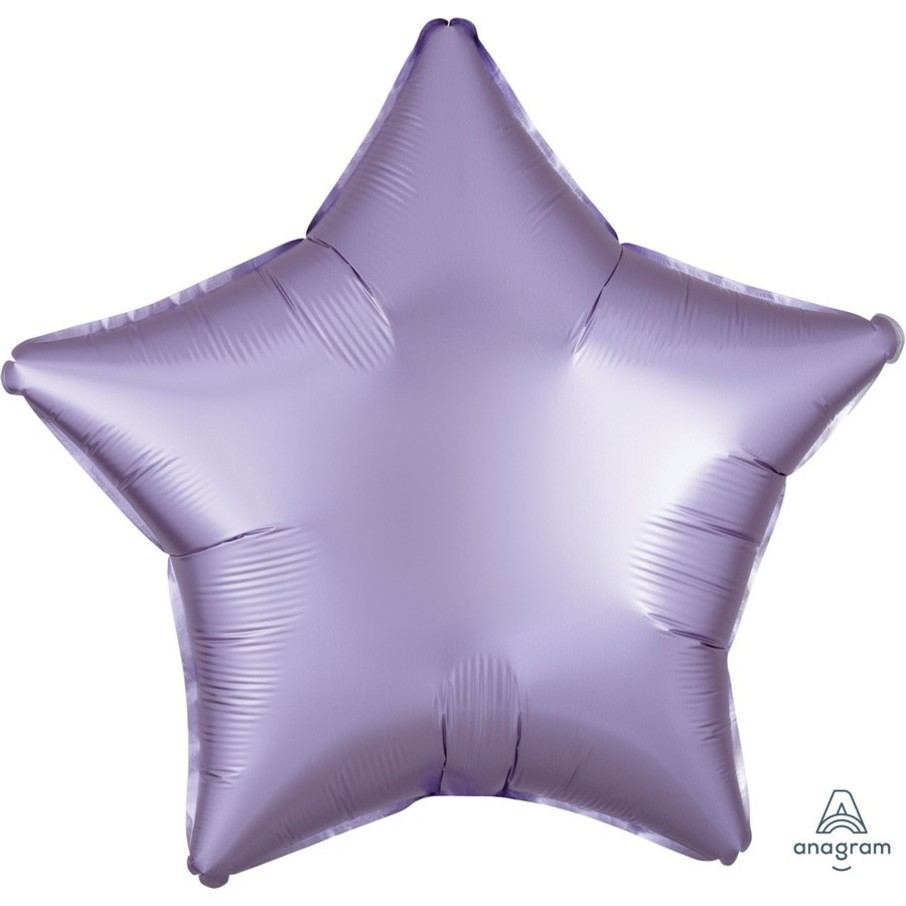 View larger image of Luxe Sateen 19 Foil Star Balloon - Pastel Lilac