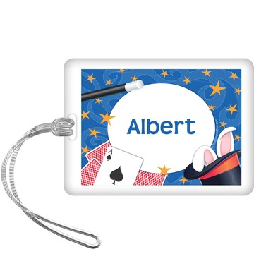 Magic Personalized Bag Tag (each)