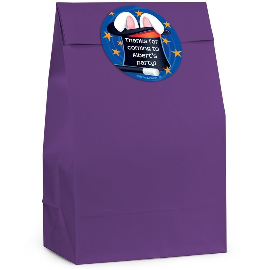 View larger image of Magic Personalized Favor Bag (Set Of 12)