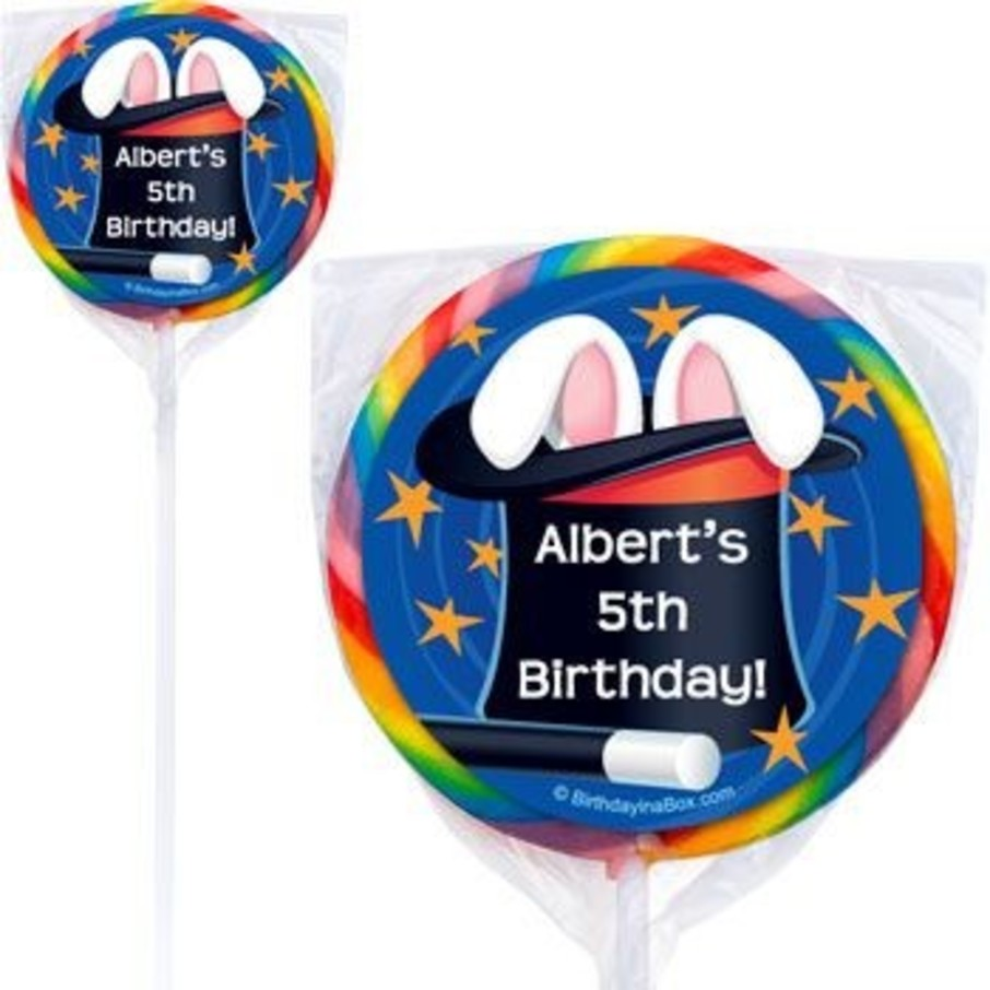 View larger image of Magic Personalized Lollipops (pack of 12)