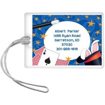 Magic Personalized Luggage Tag (each)