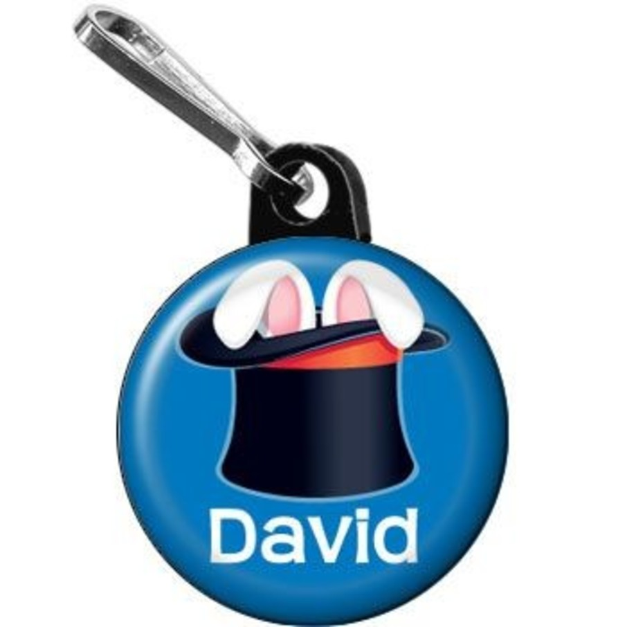 View larger image of Magic Personalized Mini Zipper Pull (each)
