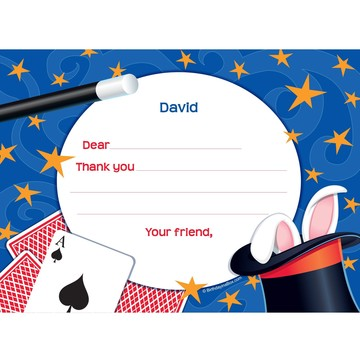 Magic Personalized Thank You Note (each)