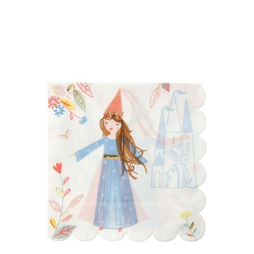 Magical Princess Lunch Napkins, 16ct