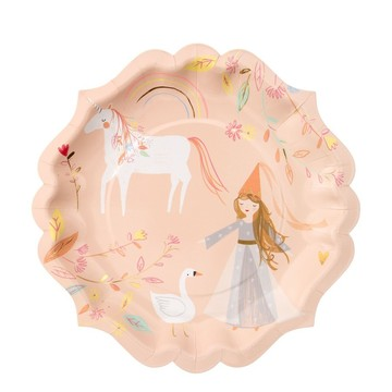 Magical Princess Lunch Plate, 8ct
