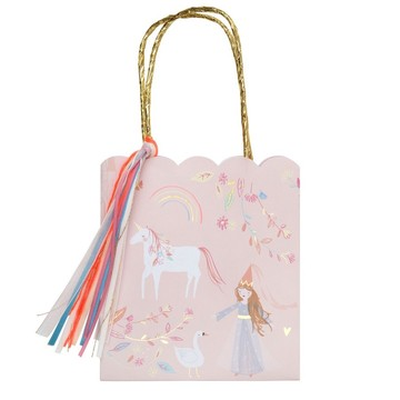 Magical Princess Paper Favor Bag, 8ct