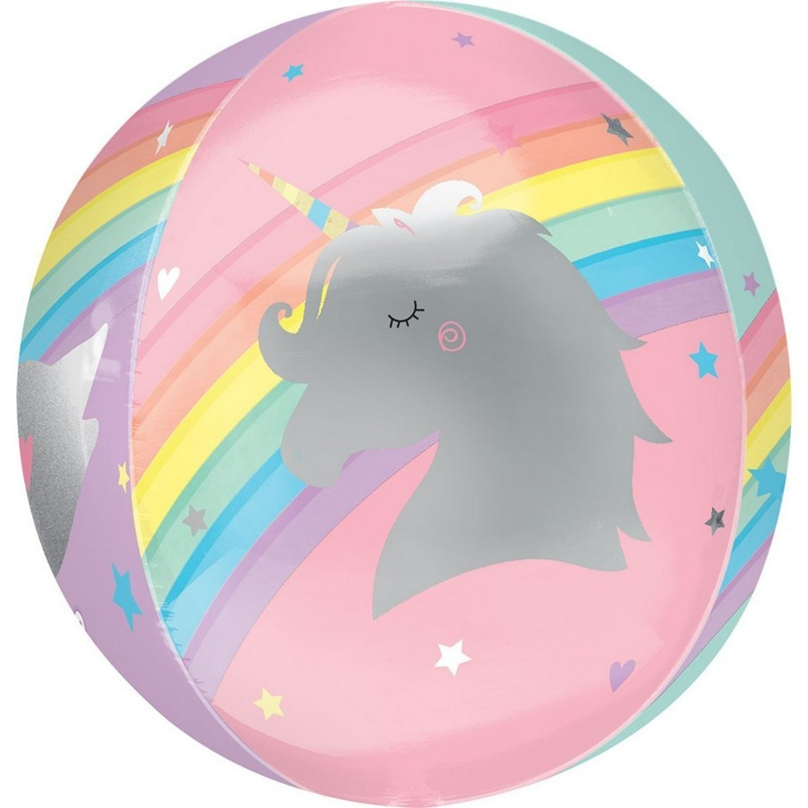 "View larger image of Magical Rainbow 16"" Orbz Balloon"