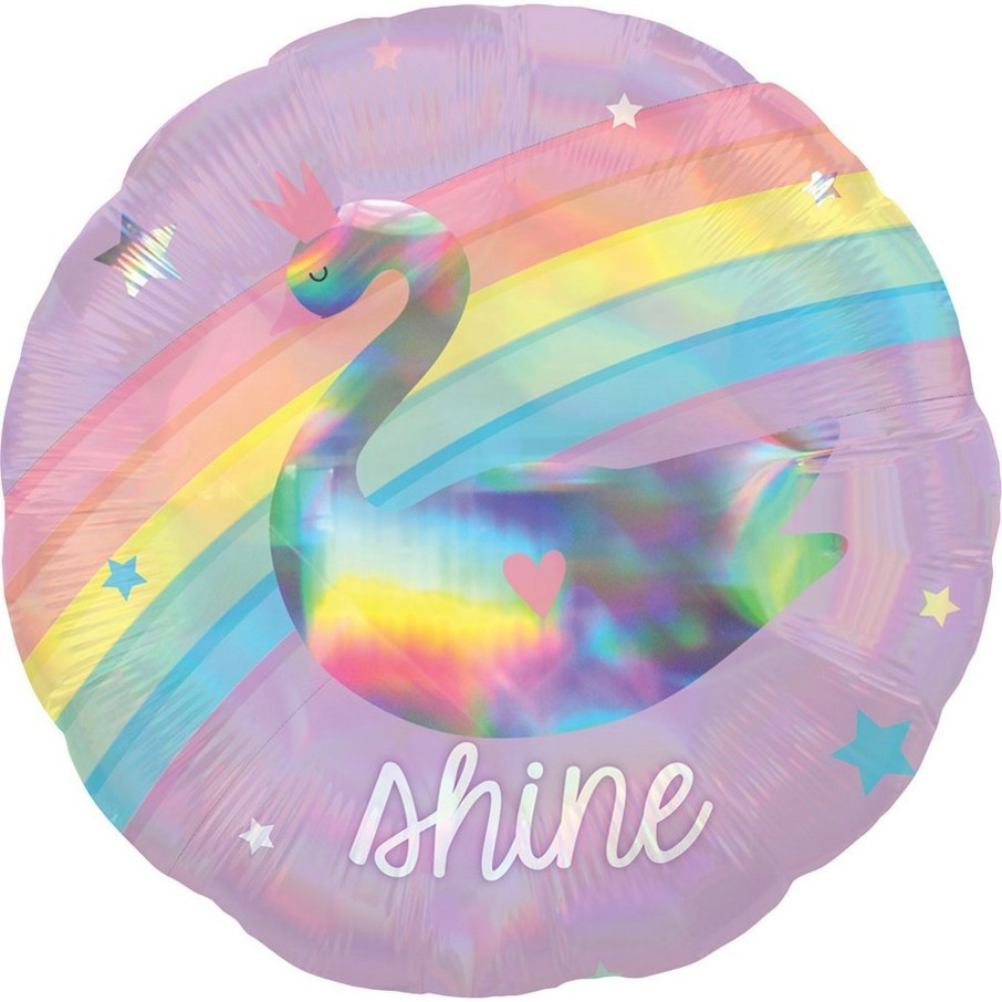 """View larger image of Magical Rainbow 18"""" Foil Balloon"""