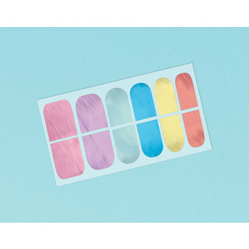 Magical Rainbow Birthday Nail Wrap Favors