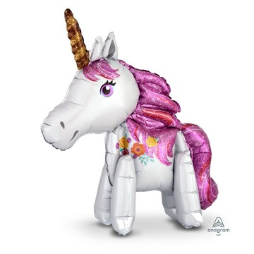 Magical Unicorn 25 Air-Fillable Foil Balloon