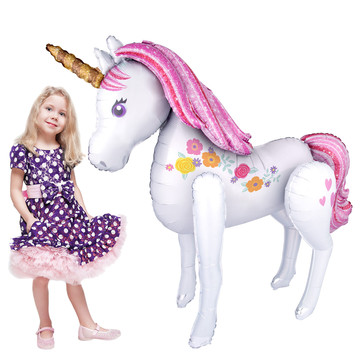 "Magical Unicorn 46"" Airwalker (1)"