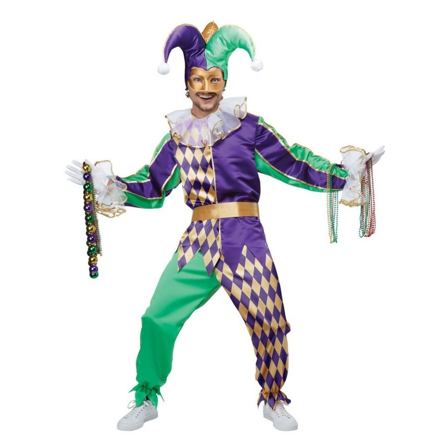 View larger image of Mardi Gras Jester Adult Costume