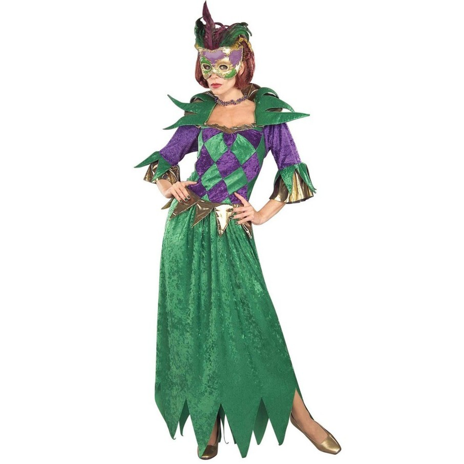 View larger image of Mardi Gras Madness Costume