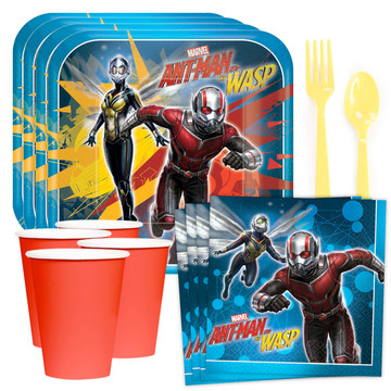 Marvel Ant Man & The Wasp Standard Tableware Kit (Serves 8)