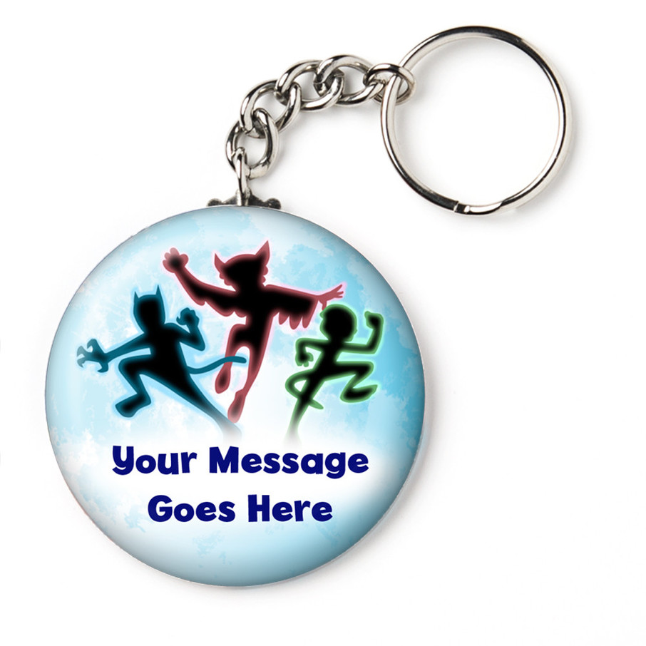 """View larger image of Masked Heroes Personalized 2.25"""" Key Chain (Each)"""