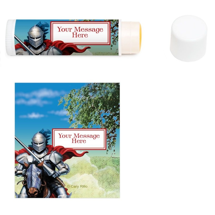 View larger image of Medieval Knight Personalized Lip Balm (12 Pack)