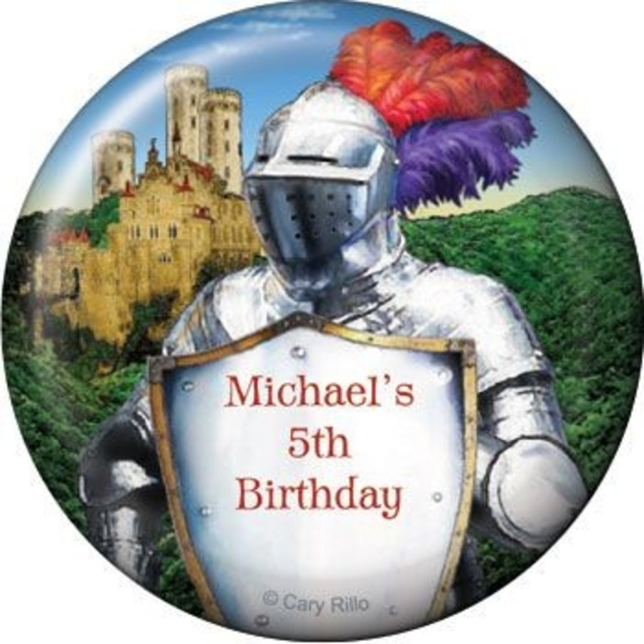 View larger image of Medieval Knight Personalized Magnet (each)