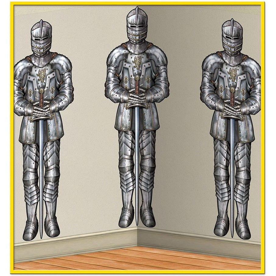View larger image of Medieval Wall of Knights Backdrop Decoration (Each)