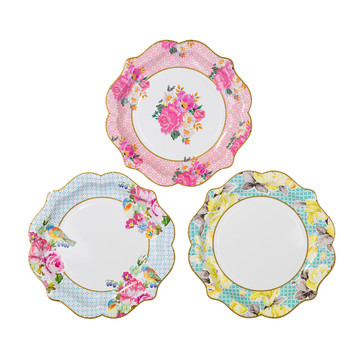 Medium Shaped Plate (12 Count)