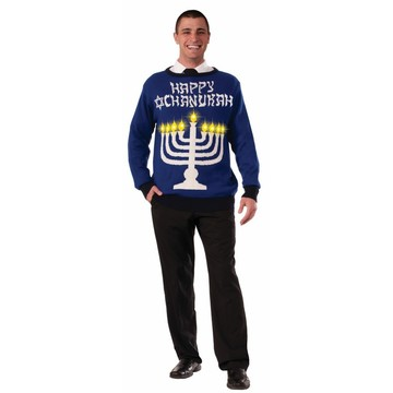 Mens Light Up Chanukah Sweater