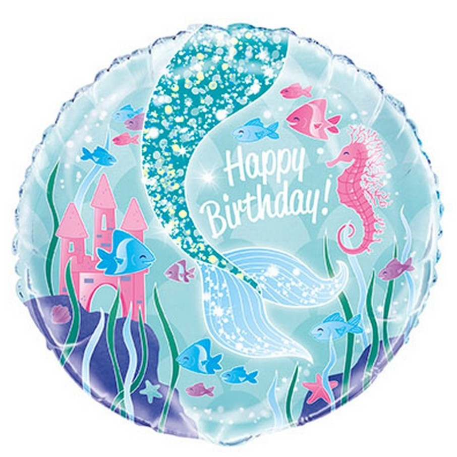 View larger image of Mermaid 18 Foil Balloon Pkgd