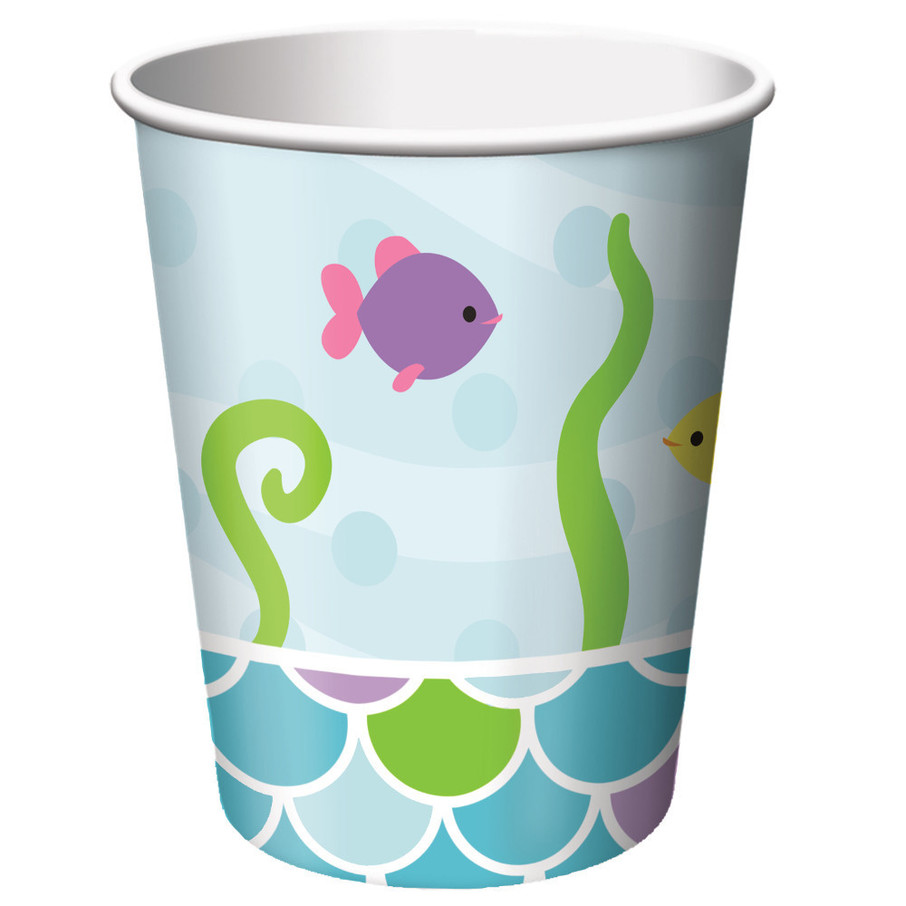 View larger image of Mermaid Friends 9 oz Cups (8 Count)