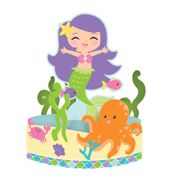 Mermaid Friends Centerpiece