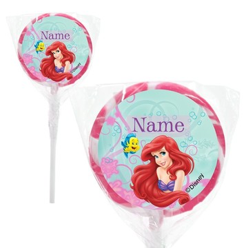 "Mermaid Personalized 2"" Lollipops (24 Pack)"